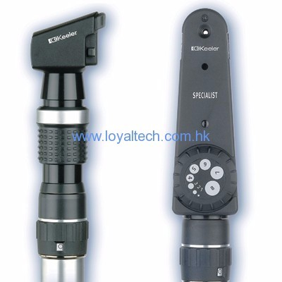Retinoscope & Ophthalmoscope set
